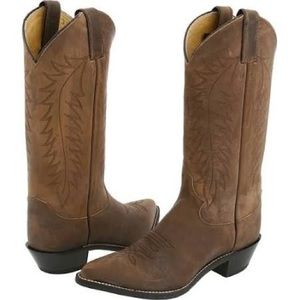 Justin Ladies Classic Western Boot in Bay Apache